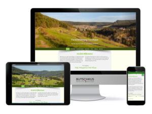 Mediendesign und Medienproduktion, Beispiel Website Ferienwohnung
