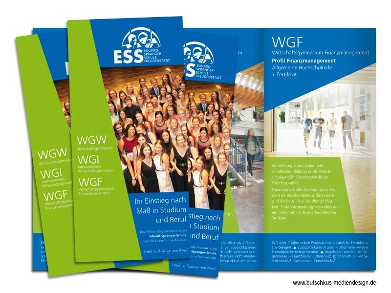 Butschkus Mediendesign Printmedien Flyer