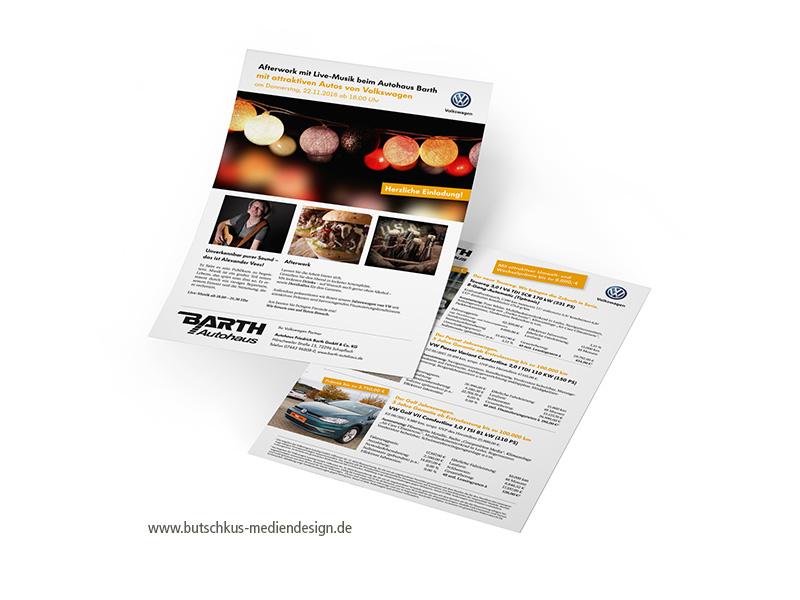 Printmedien Flyer