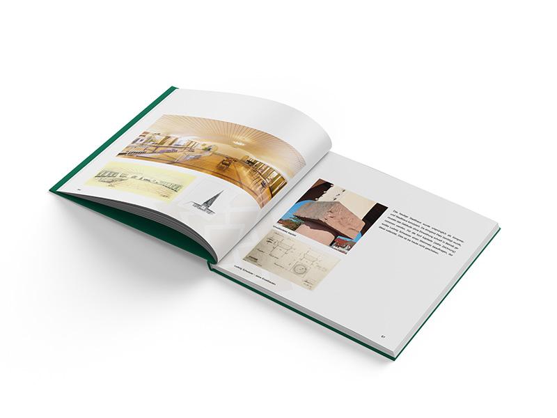Printmedien Buch Innenseiten